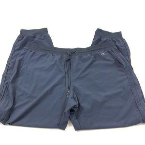GAP Woven Studio Jogger Pants True Indigo Size XL